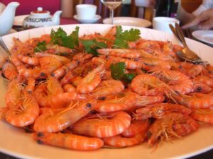 Shrimp on a Platter